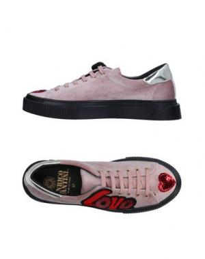 Низкие кеды и кроссовки ENRICO FANTINI. Цвет: светло-розовый