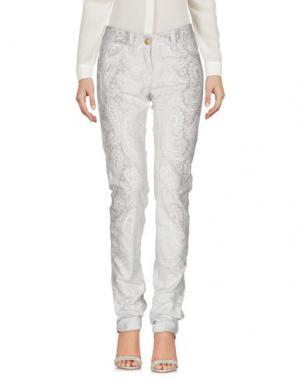 Повседневные брюки WEBER. Цвет: светло-серый