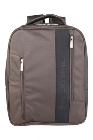 Рюкзак Trussardi Jeans. Цвет: коричневый