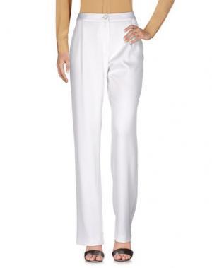 Повседневные брюки TALBOT RUNHOF. Цвет: белый