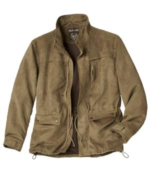 Замшевая Куртка «Сахара» AFM. Цвет: светло-коричневыи
