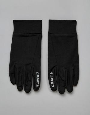 Craft Черные термоперчатки для бега Sportswear Active Comfort 1902956-. Цвет: черный
