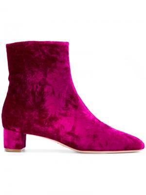 Сапоги по щиколотку Emme Oscar Tiye. Цвет: розовый и фиолетовый