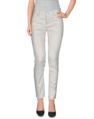 Повседневные брюки BREBIS NOIR. Цвет: белый