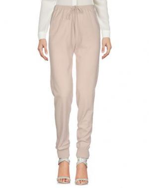 Повседневные брюки STEFANEL. Цвет: светло-серый
