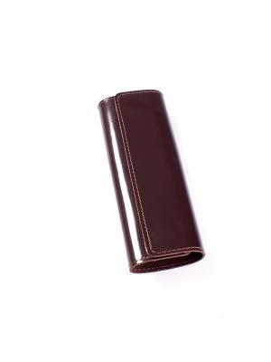 Ключница BEFLER. Цвет: коричневый