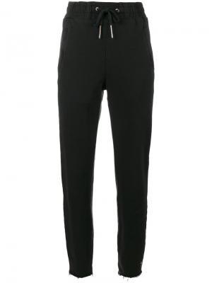 Спортивные брюки средней посадки Ksubi. Цвет: чёрный