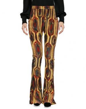 Повседневные брюки VALERIE KHALFON. Цвет: охра