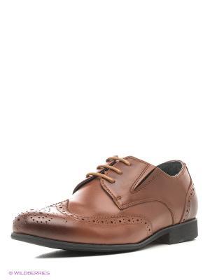 Туфли Vitacci. Цвет: коричневый