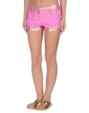 Пляжные брюки и шорты VDP BEACH. Цвет: фуксия
