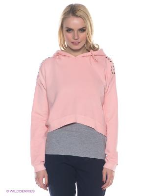 Худи E.A.R.C.. Цвет: розовый
