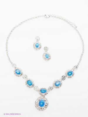 Комплект Bijoux Land. Цвет: голубой