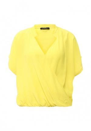 Блуза Byblos. Цвет: желтый
