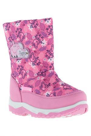 Сапожки Peppa Pig. Цвет: розовый