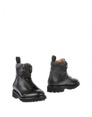 Полусапоги и высокие ботинки PREVENTI. Цвет: темно-коричневый
