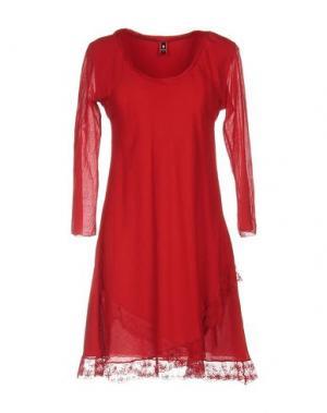 Короткое платье EUROPEAN CULTURE. Цвет: красный