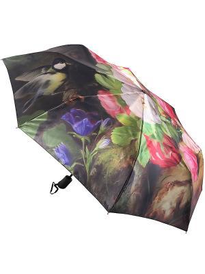 Зонт Trust. Цвет: красный, черный