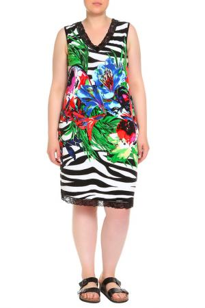 Платье домашнее Мишель LAVELLE. Цвет: белый