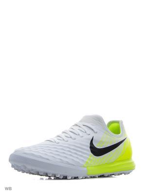 Шиповки MAGISTAX FINALE II TF Nike. Цвет: белый, желтый