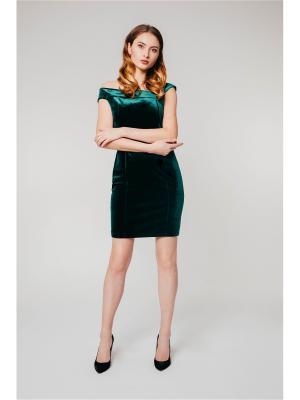 Коктейльное бархатное платье Krismarin