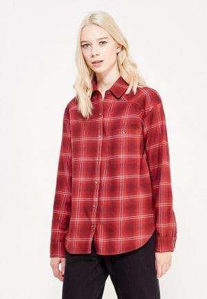 Рубашка Billabong. Цвет: бордовый