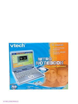 Обучающий компьютер Vtech Nitro Notebook. Цвет: голубой