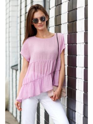 Блузка RUXARA. Цвет: сиреневый