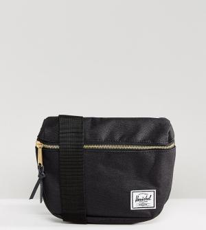 Herschel Supply Co Черная сумка-кошелек на пояс . Fifteen. Цвет: черный