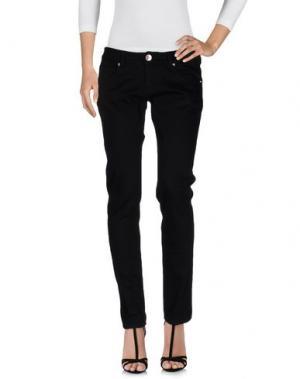 Джинсовые брюки LES ÉCLAIRES. Цвет: черный