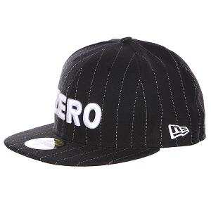 Бейсболка New Era  Army Pinstripe Zero. Цвет: черный