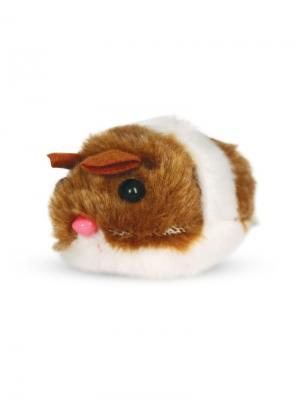 Игрушка для кошек Мышь вибрирующая, 6*5 см. TRIOL. Цвет: белый