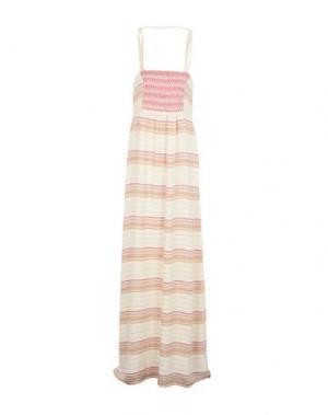 Длинное платье INTROPIA. Цвет: белый
