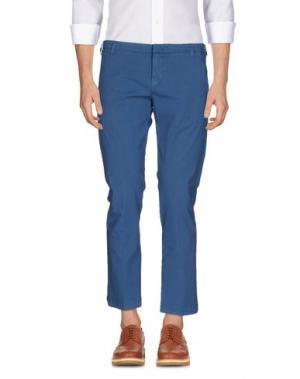 Повседневные брюки ENTRE AMIS. Цвет: пастельно-синий