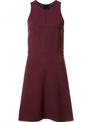 Расклешенное платье Sabina Rag & Bone. Цвет: розовый и фиолетовый