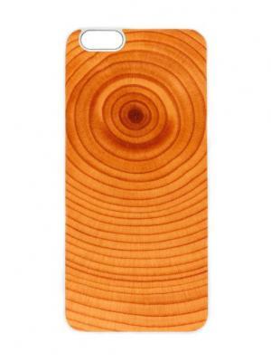 Чехол для iPhone 6 Пенек Chocopony. Цвет: светло-коричневый, коралловый, оранжевый