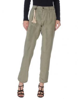 Джинсовые брюки BASICON. Цвет: зеленый-милитари