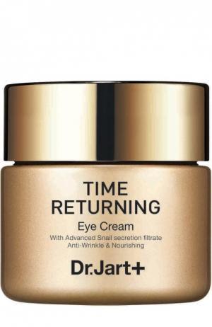 Антивозрастной крем для глаз с муцином улитки Time Returning Dr.Jart+. Цвет: бесцветный