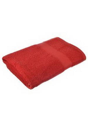 Полотенце махровое KONONO. Цвет: красный