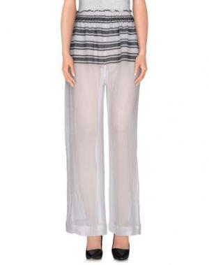 Повседневные брюки LEMLEM. Цвет: белый