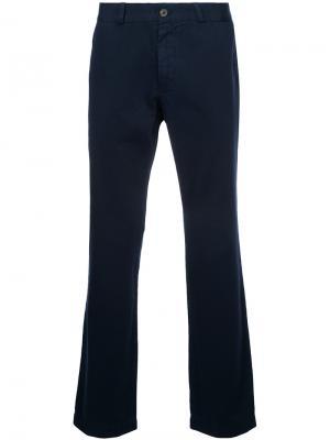 Классические брюки-чинос Sunspel. Цвет: чёрный