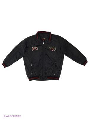 Куртка IFC. Цвет: черный