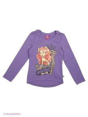 Лонгсливы Monster High. Цвет: фиолетовый, бронзовый