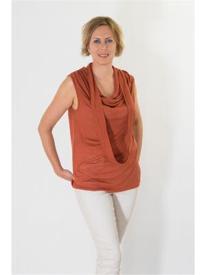 Блуза Brava Catalan. Цвет: оранжевый