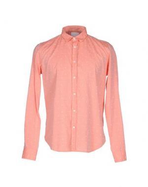 Pубашка GUYA G.. Цвет: лососево-розовый