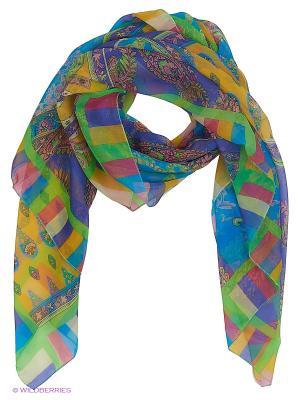 Парео текстильное Vittorio Richi. Цвет: голубой, сиреневый