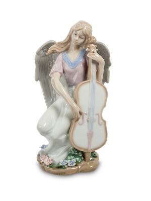 Статуэтка Волшебная Виолончель Pavone. Цвет: белый
