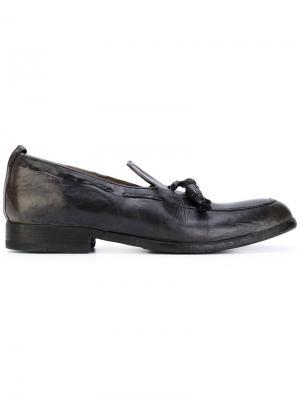 Tassel detailed loafers Sartori Gold. Цвет: чёрный