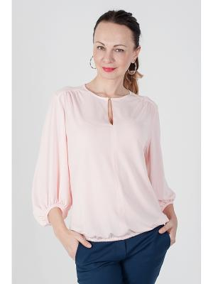 Блузка ОДЕКС-СТИЛЬ. Цвет: розовый