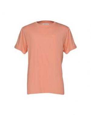 Футболка ONTOUR. Цвет: лососево-розовый