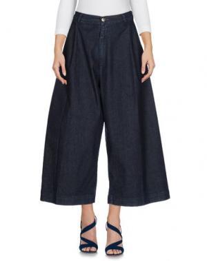 Джинсовые брюки JIJIL. Цвет: синий